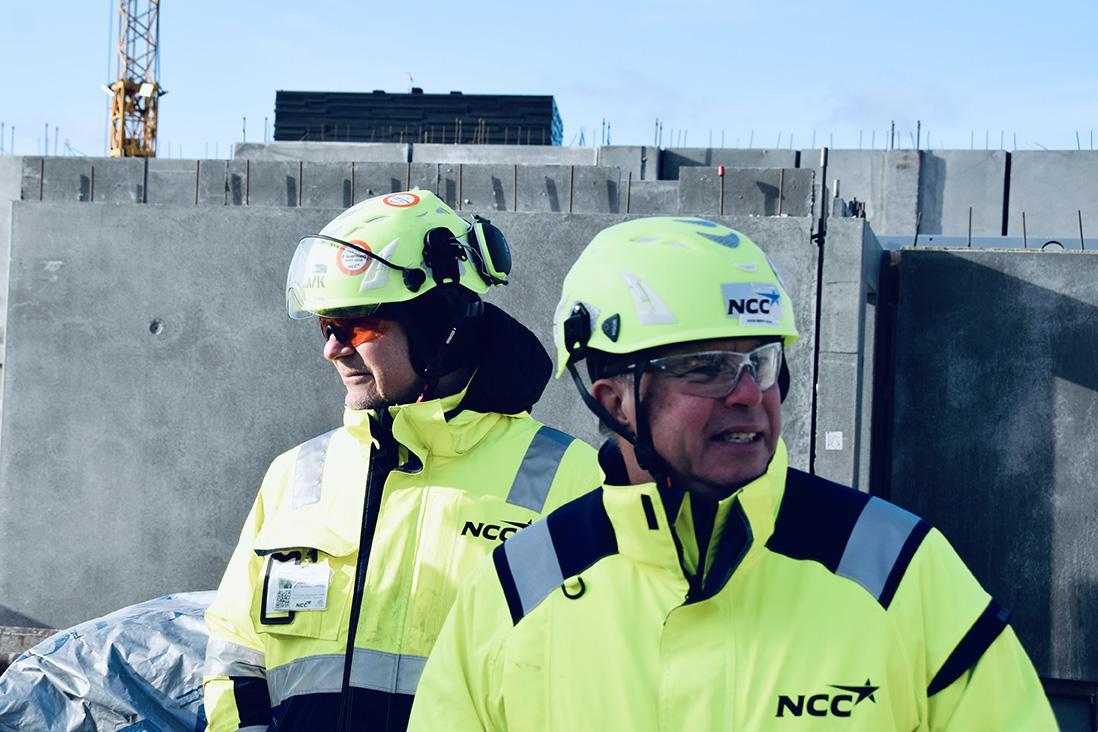 NCC på PAPIRØEN