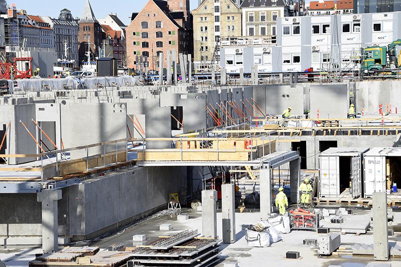 PAPIRØEN - byggeplads