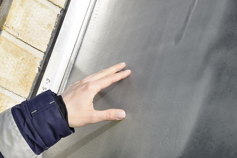 PAPIRØEN - facade mockup - test af vinduesbeskyttelse