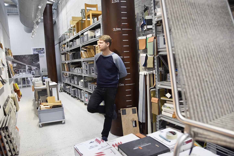 PAPIRØEN - arkitekt Dan Stubbergaard i Cobes materialebank.